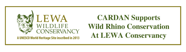 CARDAN Support Rhino Conservancy At LEWA