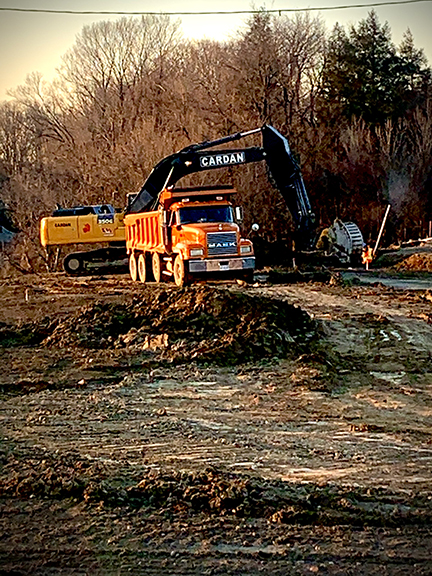 CARDAN Excavation
